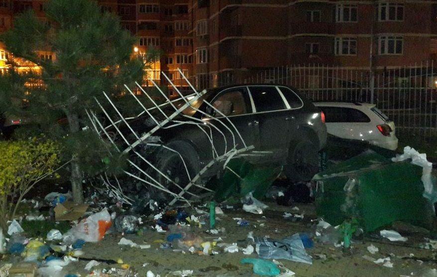 ВКраснодаре наводителя, протаранившего семь машин, завели уголовное дело