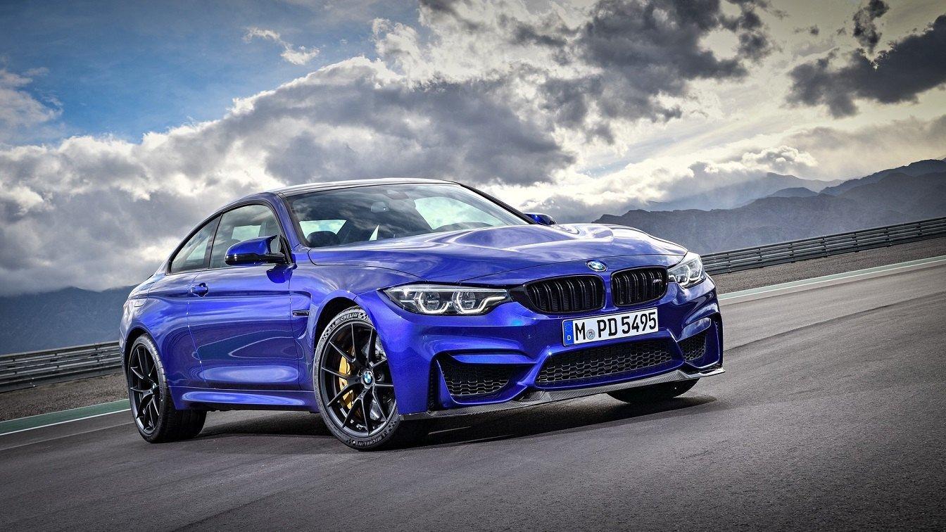 BMW сделала 460-сильное купе M4 CS class=