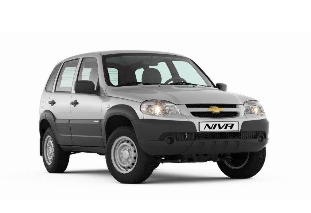 Шевроле Niva доступна скомплектом дополнительного оборудования вподарок