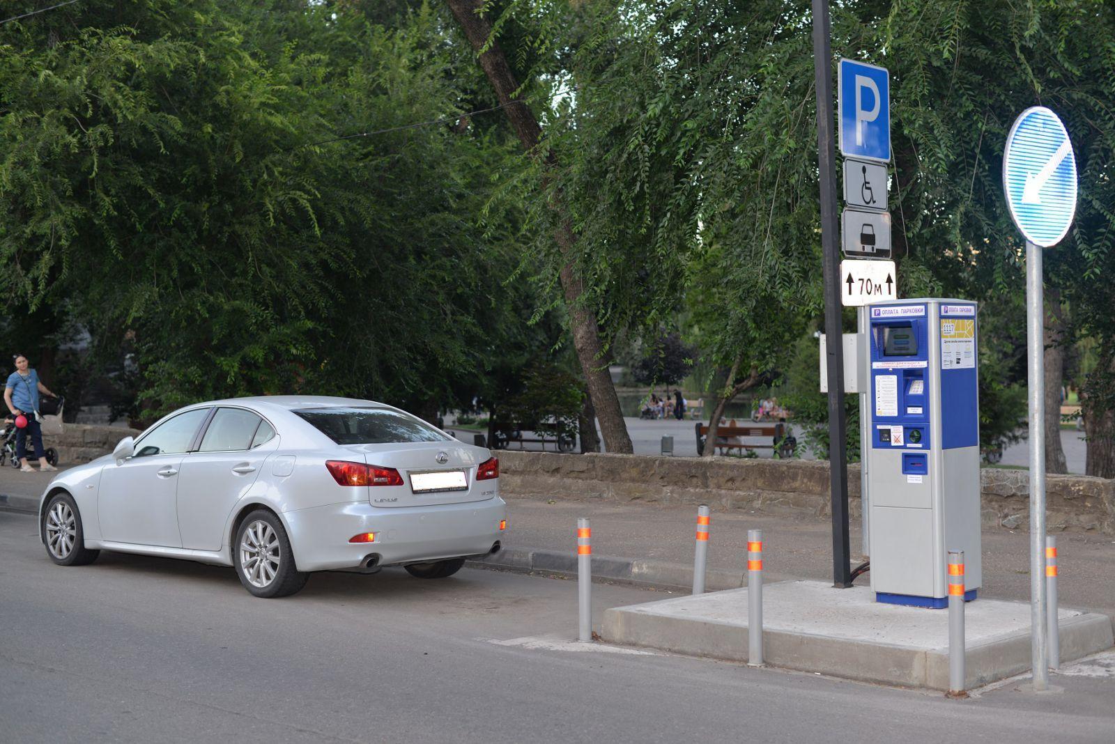 ВКраснодаре откроют неменее 700 новых мест наплатных парковках