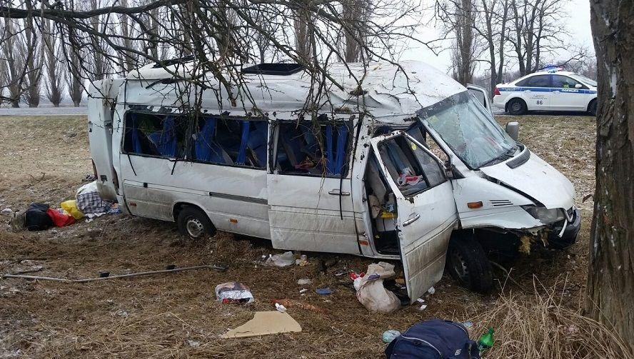 НаКубани в трагедию попал пассажирский автобус— пострадали 5 человек