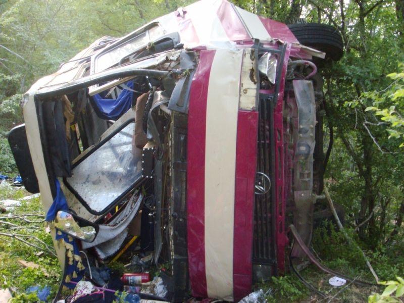 Шоферу разбившегося вблизи Щебетовки автобуса дали практически 3 года тюрьмы