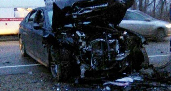 НаКубани вДТП живьем сгорел шофёр «Лады»