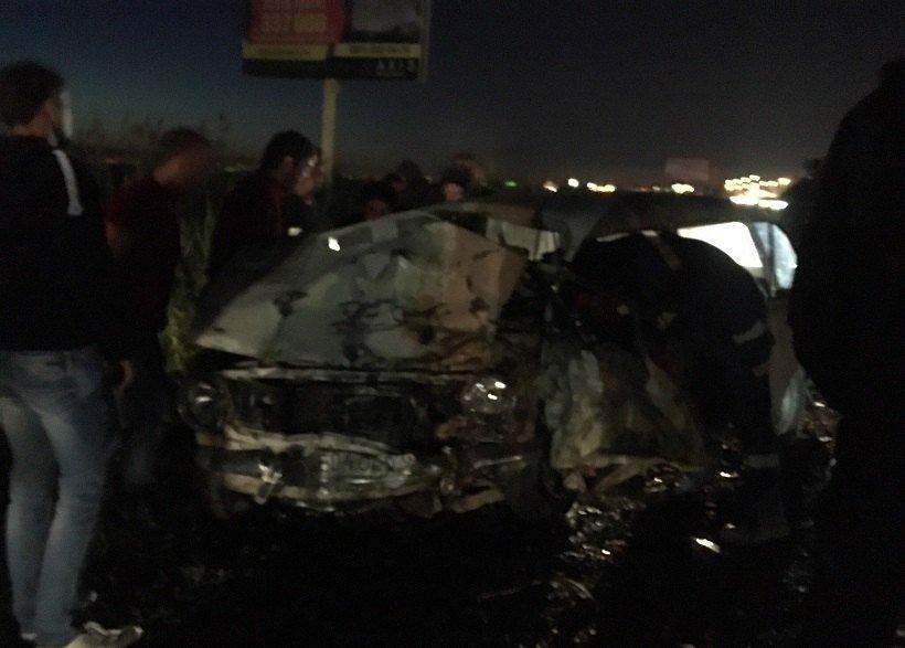Под Краснодаром при столкновении синомаркой умер шофёр «копейки»