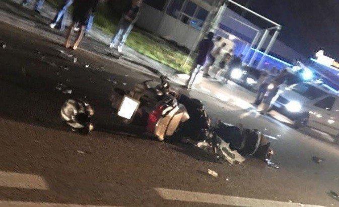Два мотоцикла столкнулись вАдлерском районе Сочи