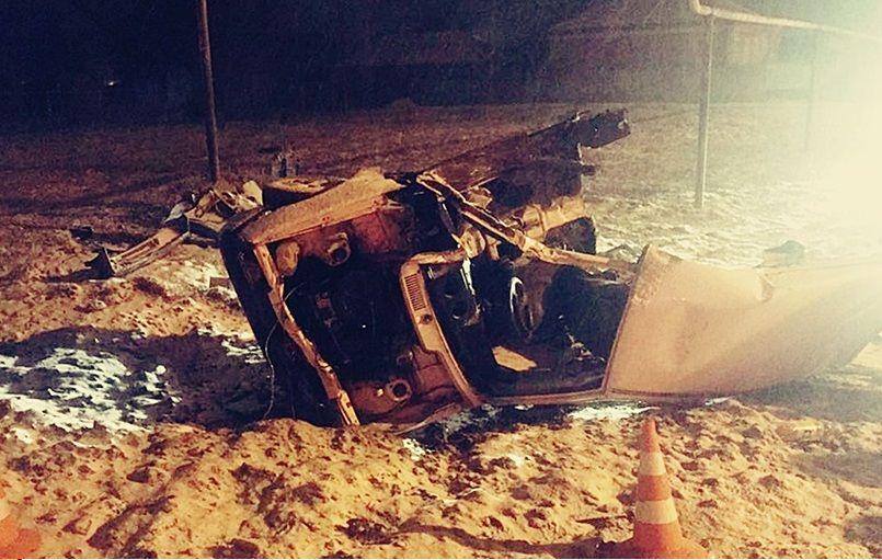 ВКраснодарском крае вДТП умер 26-летний шофёр «Оки»