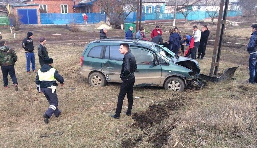 ВЩербиновском районе вДТП пострадали женщина и 3-х летний  ребенок