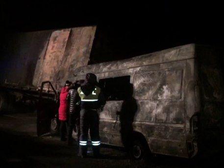 «КамАЗ» раздавил автобус вРостовской области