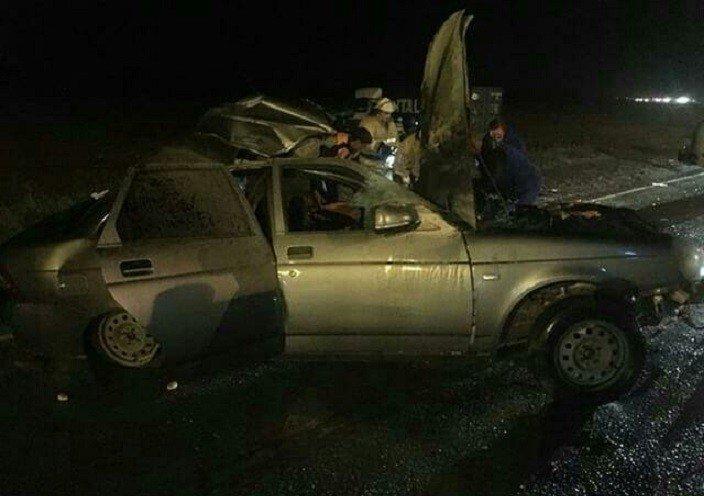 НаКубани при столкновении легковушки иМАЗа погибли 2 человека