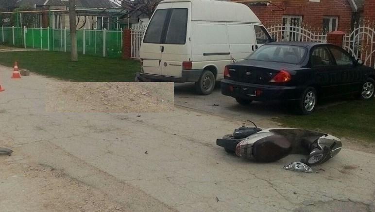 ВТемрюкском районе вДТП умер мопедист