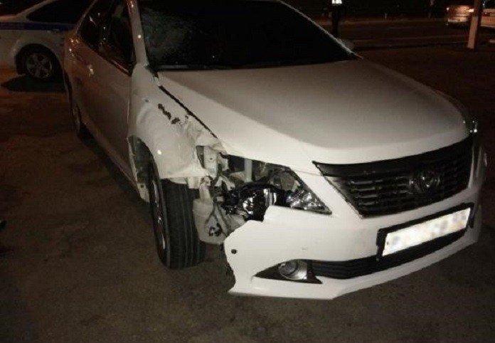 ВКраснодаре шофёр иномарки сбил пешехода и исчез