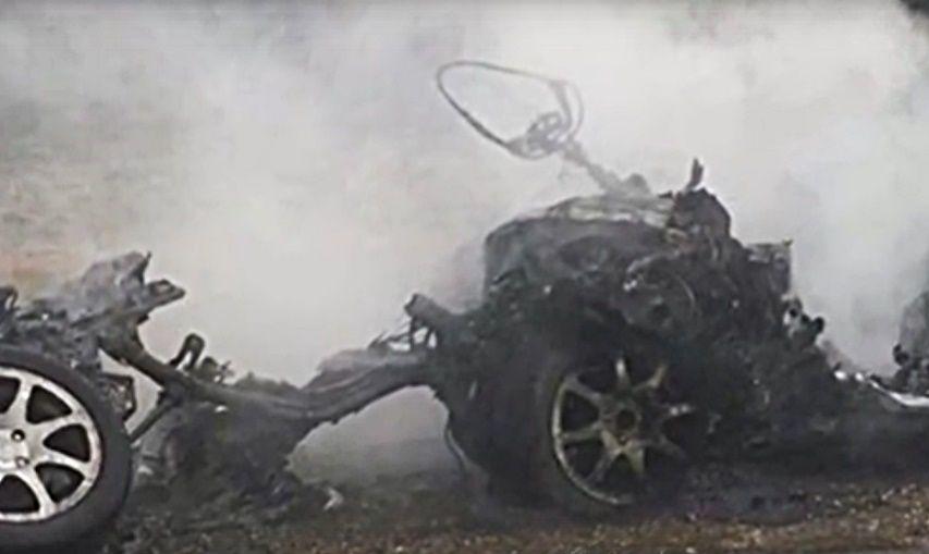 Натрассе Краснодар— Ейск КамАЗ столкнулся слегковушкой: есть погибший