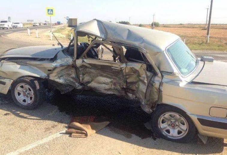 НаКубани при столкновении синомаркой умер шофёр «Волги»