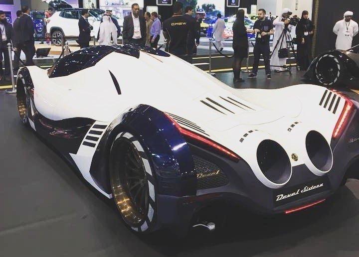 ВДубае представили 5000-сильный арабский гиперкар Devel Sixteen