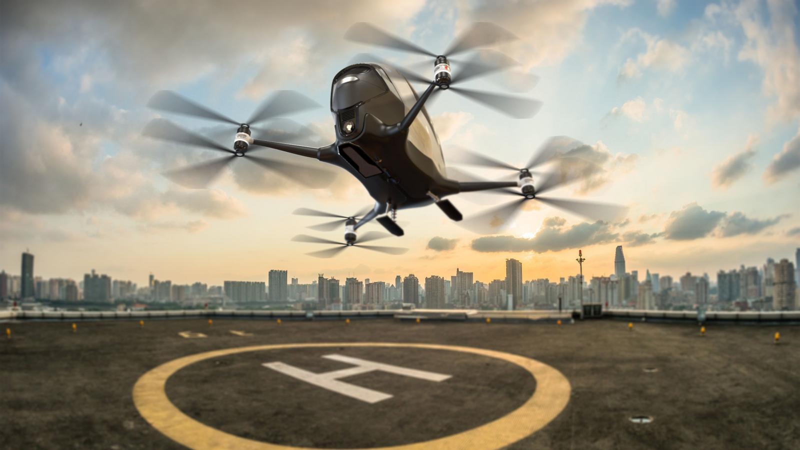 Компания «Промсервис» победила в конкурсе ФПИ с проектом аппарата вертикального взлета