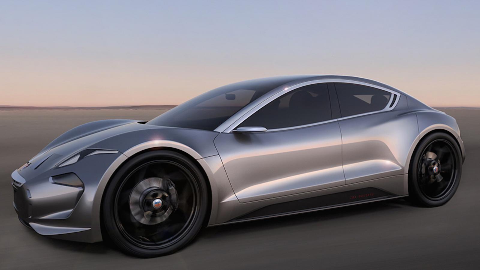 Хенрик Фискер рассекретил собственный новый электрический спорткар