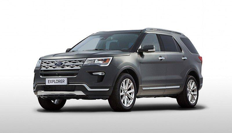 Обновленный Ford Explorer оценен в рублях