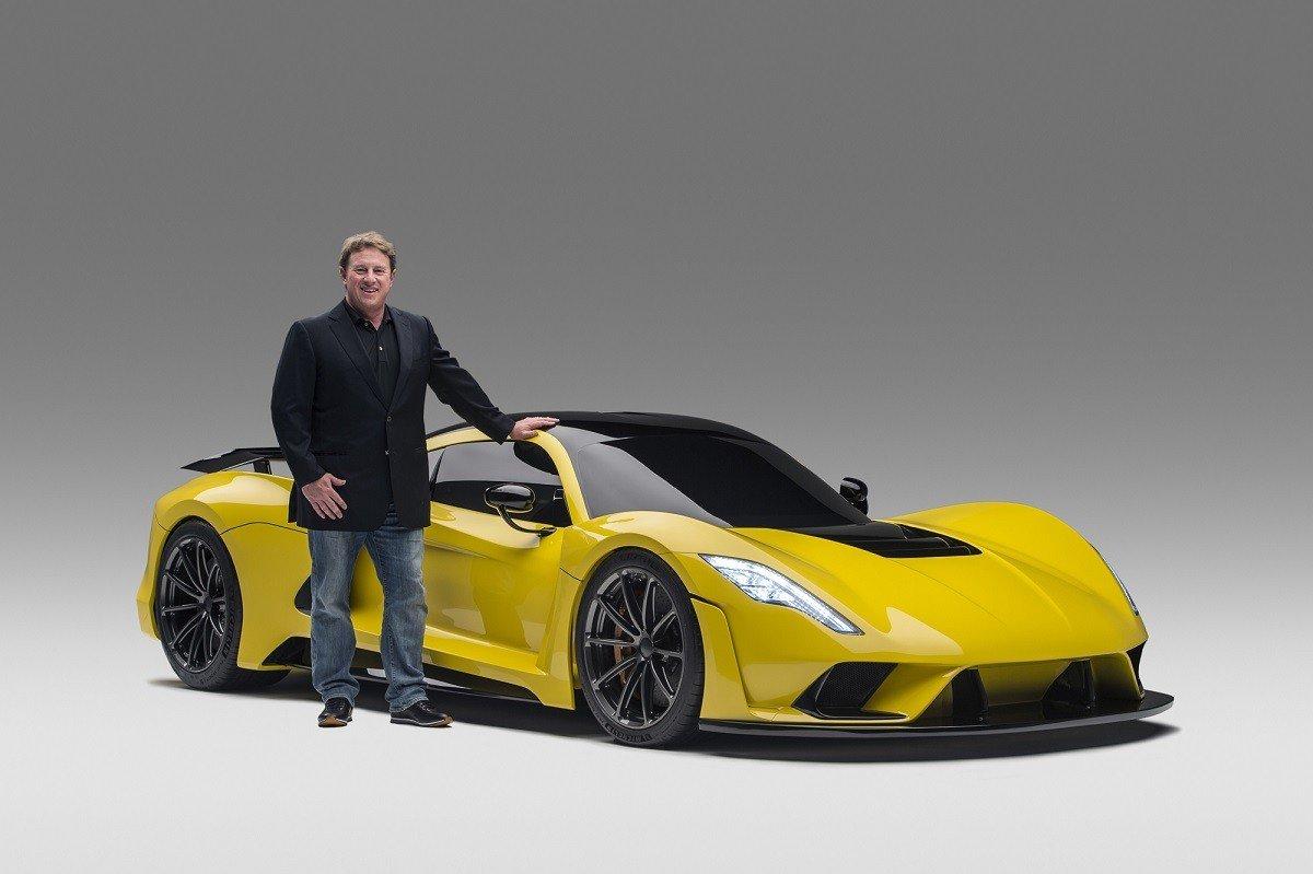 Hennessey F5 обещает стать самым быстрым авто вмире— Американский гиперкар
