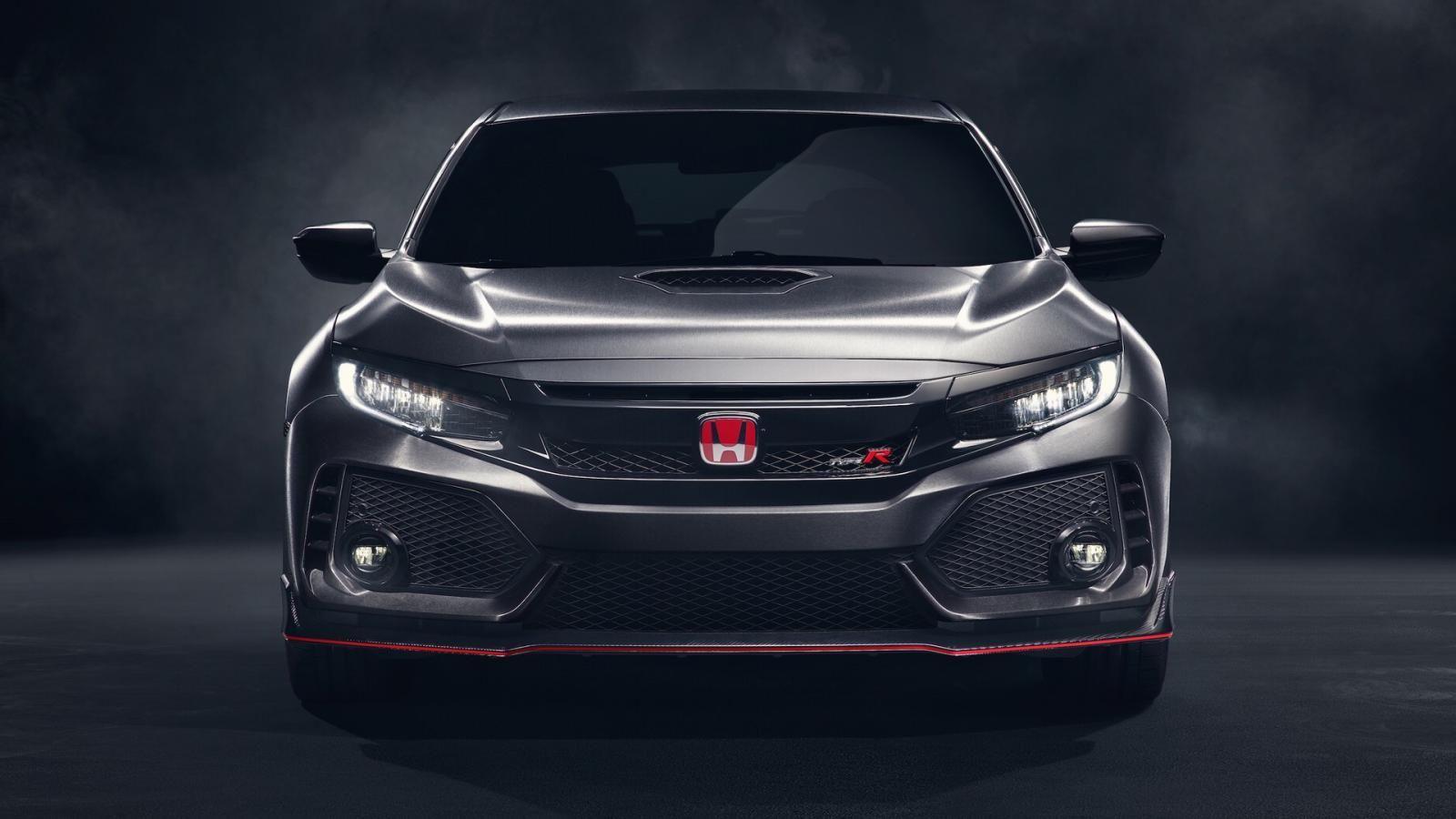 Хонда привезла вПариж предсерийный Civic Type R