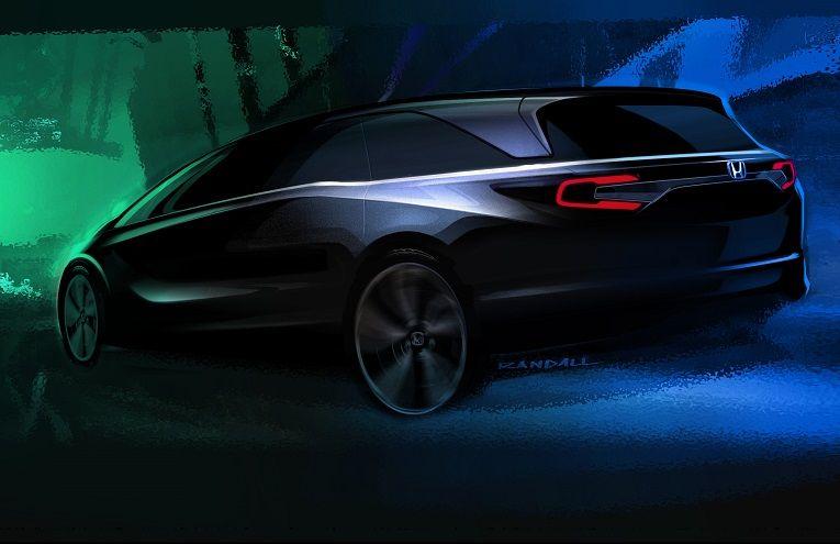 Минивэн Хонда Odyssey будет представлен вДетройте зимой наступающего года