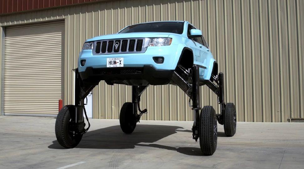 В США испытали автомобиль-трансформер