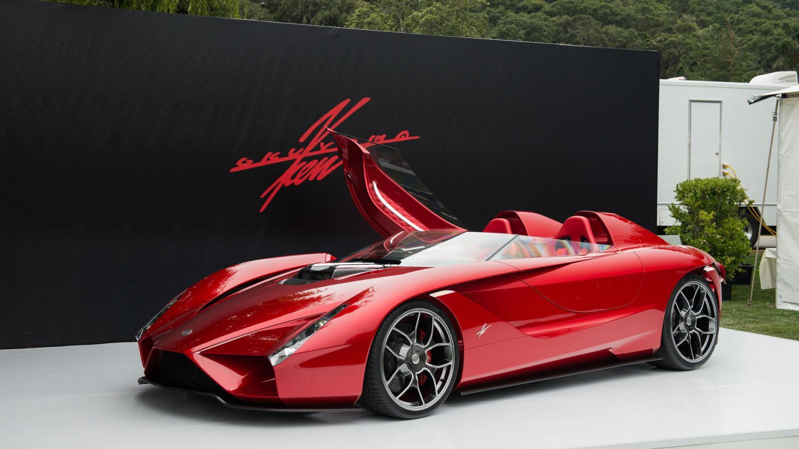 Дизайнер Феррари сделал собственный автомобиль необыкновенной красоты