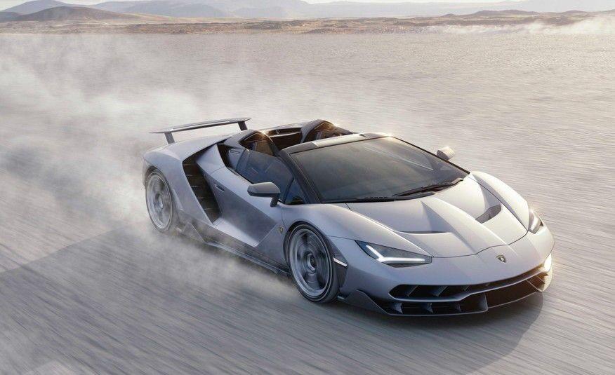 Юбилейный родстер Lamborghini Centenario Roadster представлен вПеббл-Бич