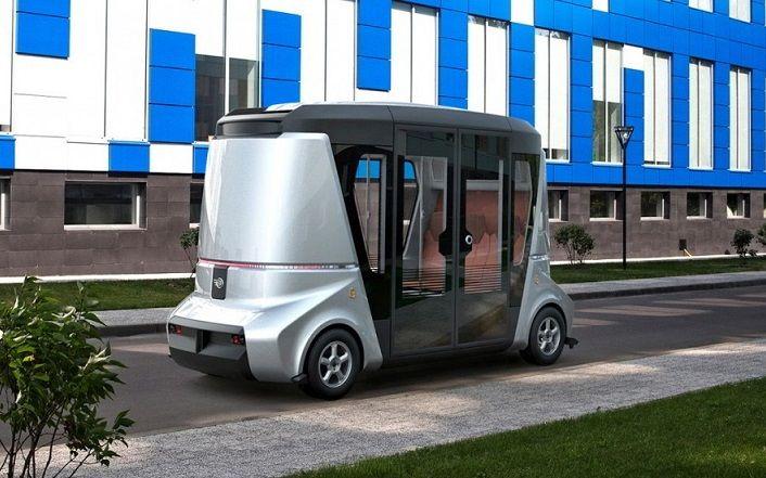 Беспилотный электроавтобус представит на форуме в Сочи компания Volgabus