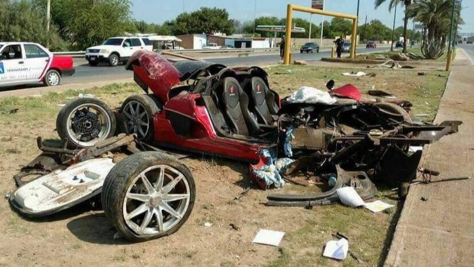 ВМексике разбили суперкар Koenigsegg CCX