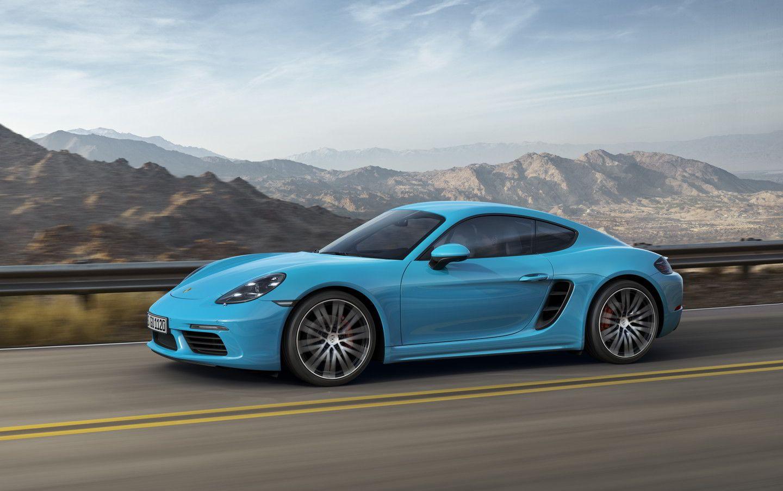 Porsche представляет новый 718 Cayman