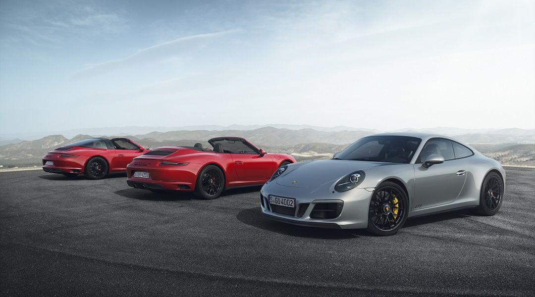 Порше представила спорткар 911 GTS вДетройте