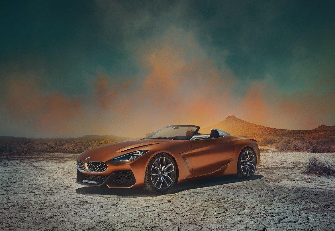 BMW частично рассекретила новый родстер Z4