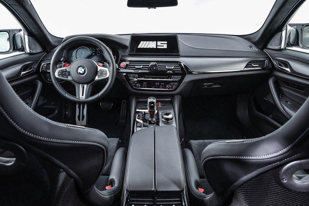 БМВ M5 превратили вмашину безопасности для мотогонок