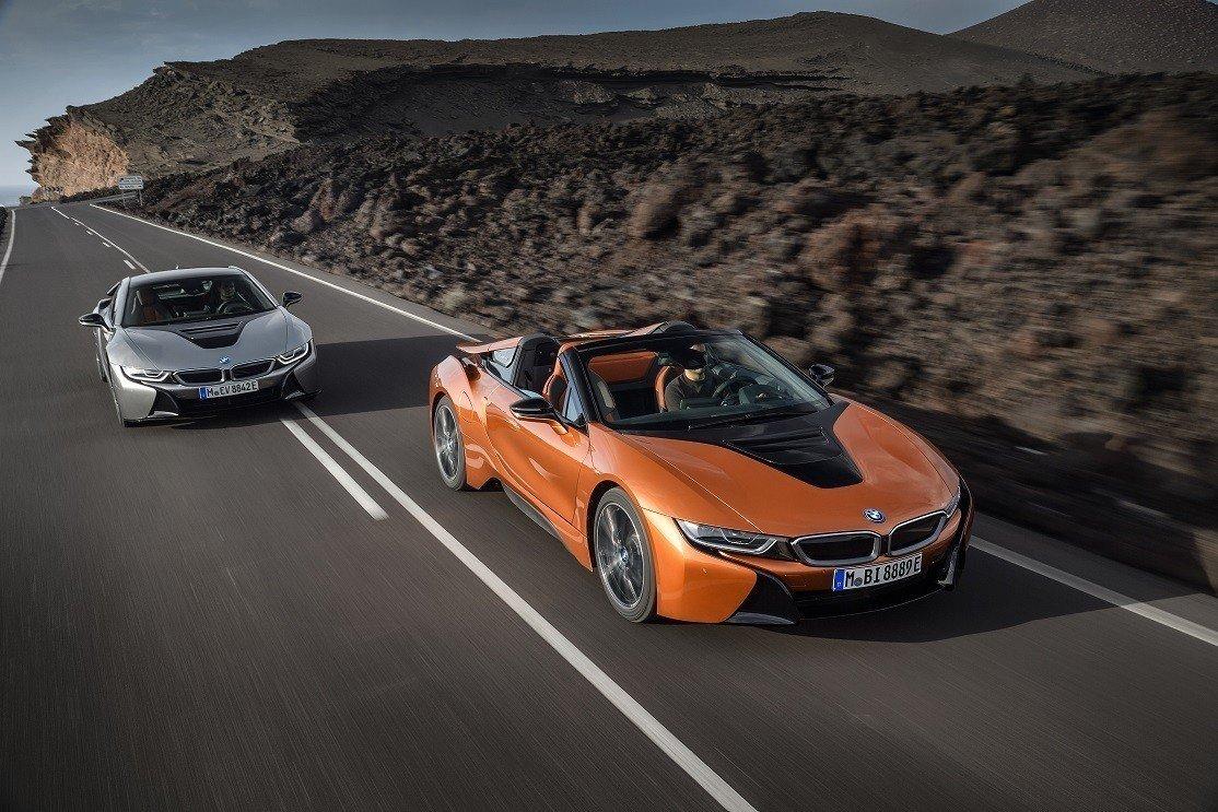 Озвучены цены на новые BMW i8 Coupe и BMW i8 Roadster
