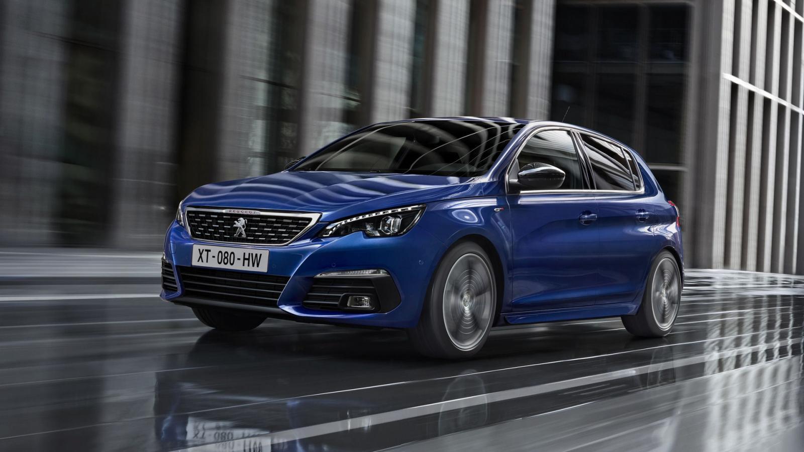 Обновлённый Peugeot 308 2018 модельного года рассекречен официально