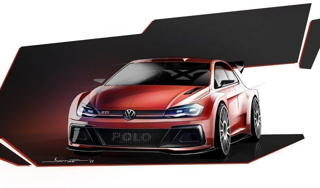 Рассекречен дизайн раллийного хэтчбека VW  Polo GTI R5