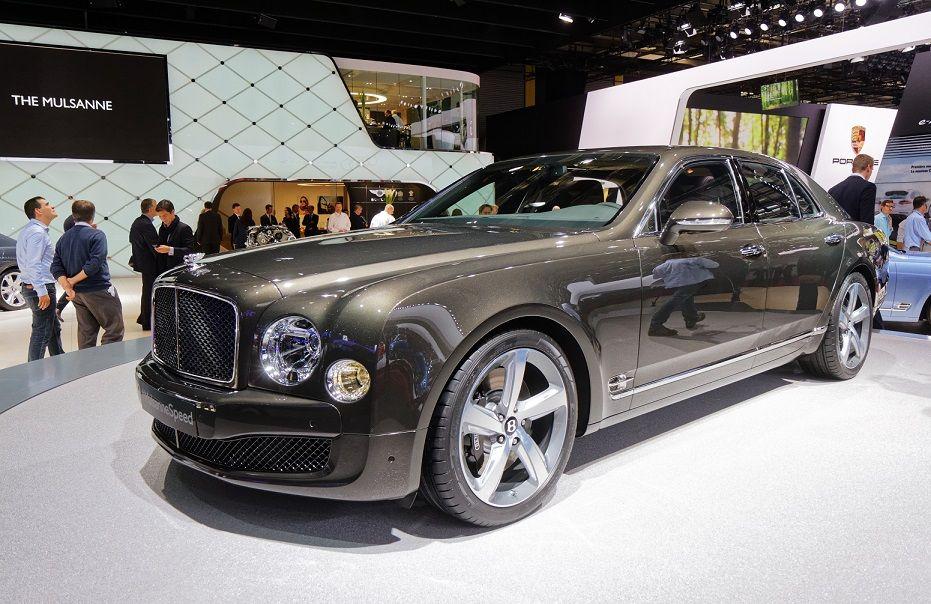 Bentley и Lamborghini отказались от участия в Парижском автосалоне