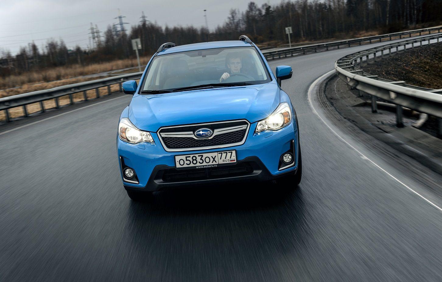 Спецверсия кроссовера Субару XVпоявится на автомобильном рынке РФ весной