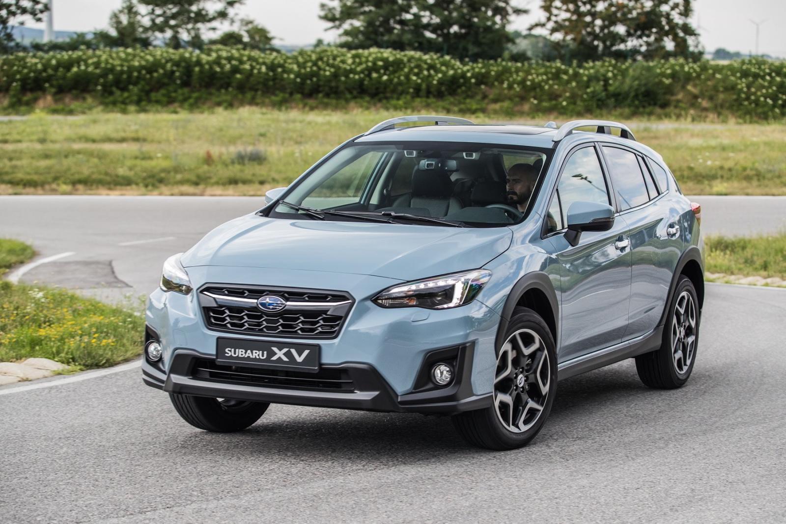 Озвучены сроки выхода нового кроссовера Subaru XV на рынок России