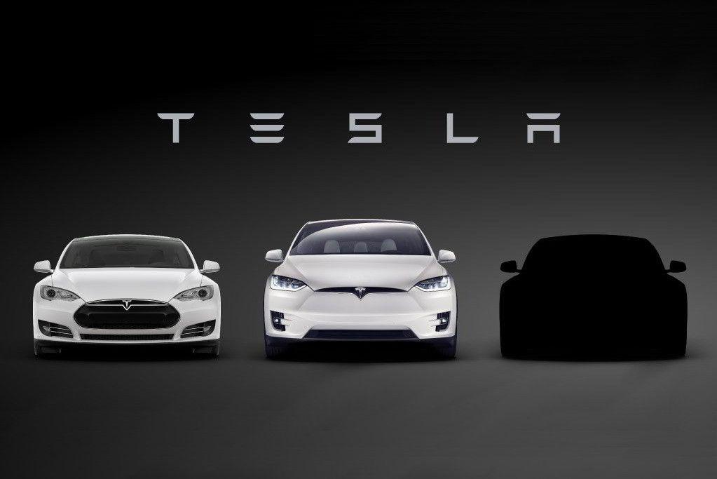 1-ый тизер— Tesla Model 3