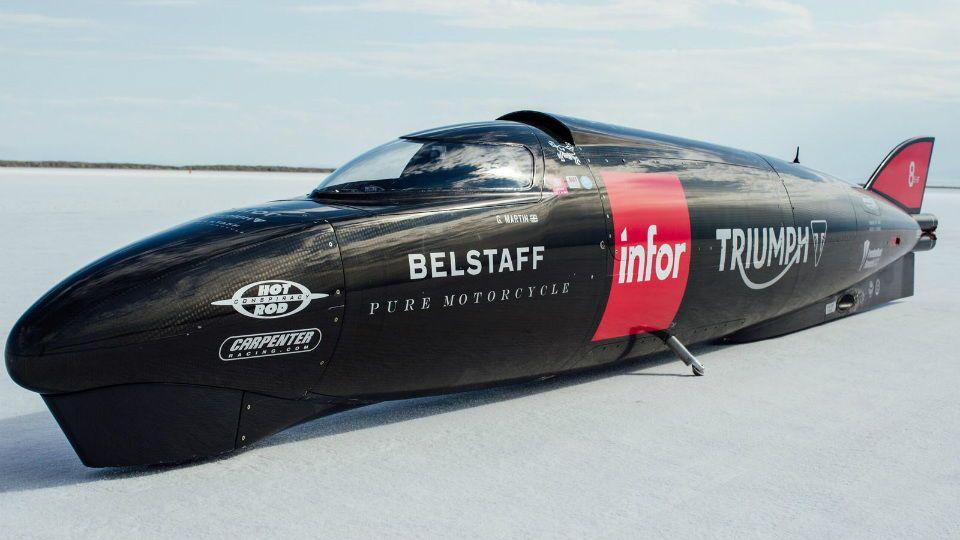 Cамый быстрый мотоцикл отTriumph: необыкновенная ракета на 2-х колёсах