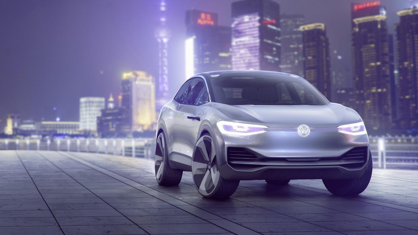 Volkswagen представит концепт электроприводного кроссовера