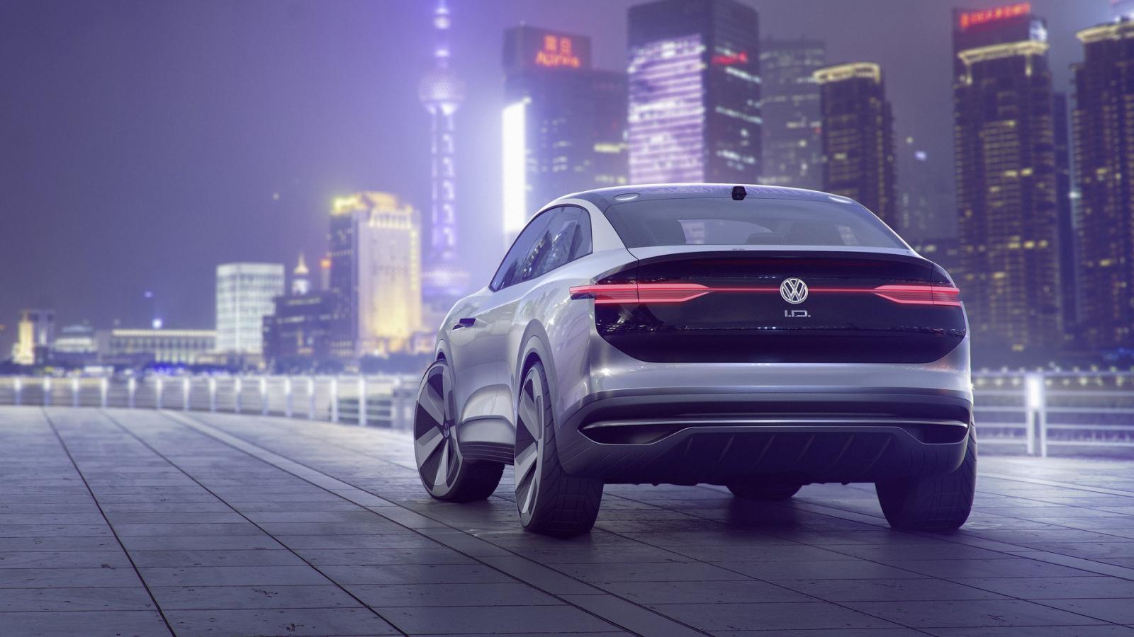 ВШанхае покажут новый полностью электрический кроссовер Volkswagen