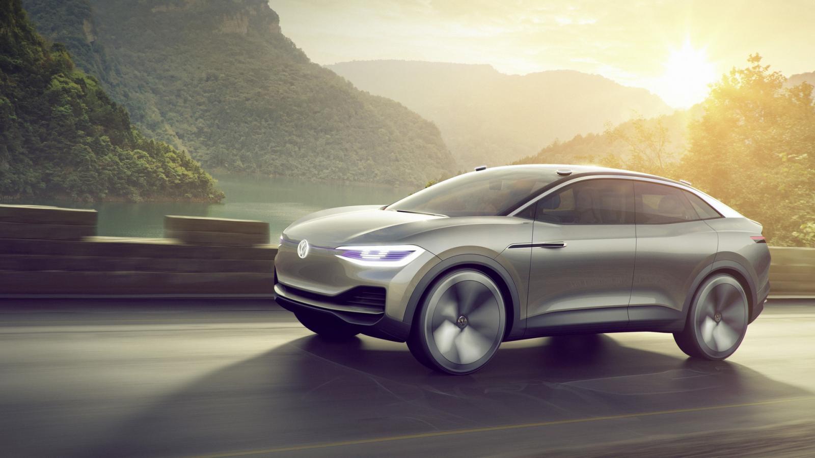 VW представил концептуальный кроссовер I. D. Crozz