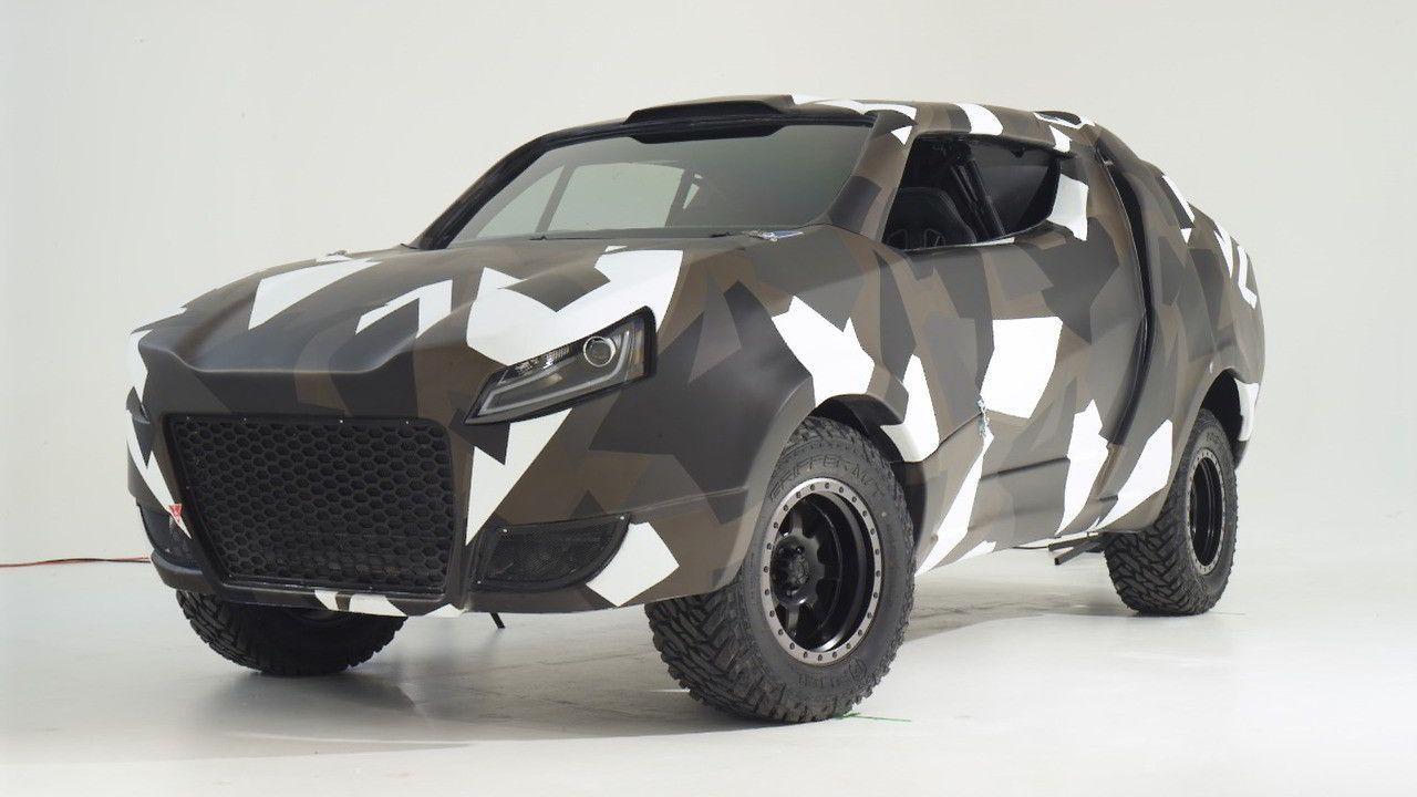 Улучшенный Фольксваген Amarok превратился в«боевой» концепт-кар Korama