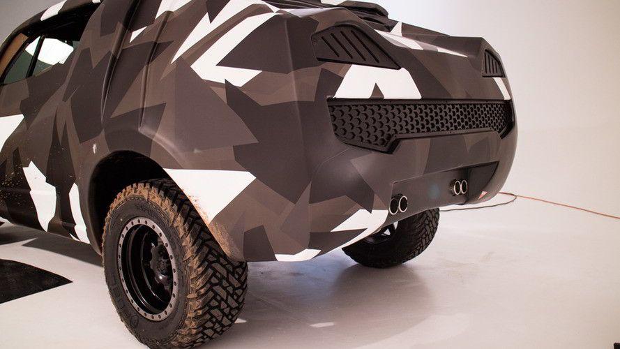 Улучшенный Фольксваген Amarok превратился в«боевой» концептуальный автомобиль Korama