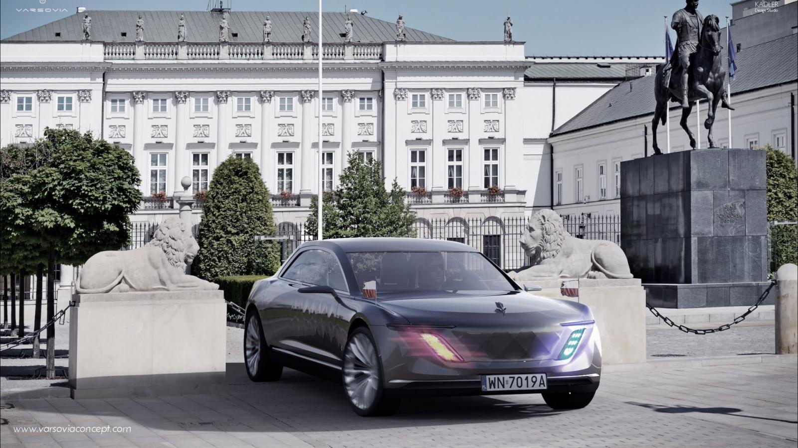 Varsovia— дорогой гибридный седан изПольши