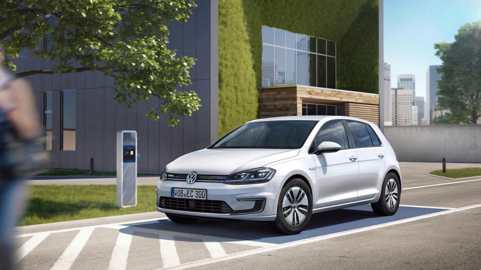 Озеленитель стиля: Фольксваген обновил электромобиль e-Golf