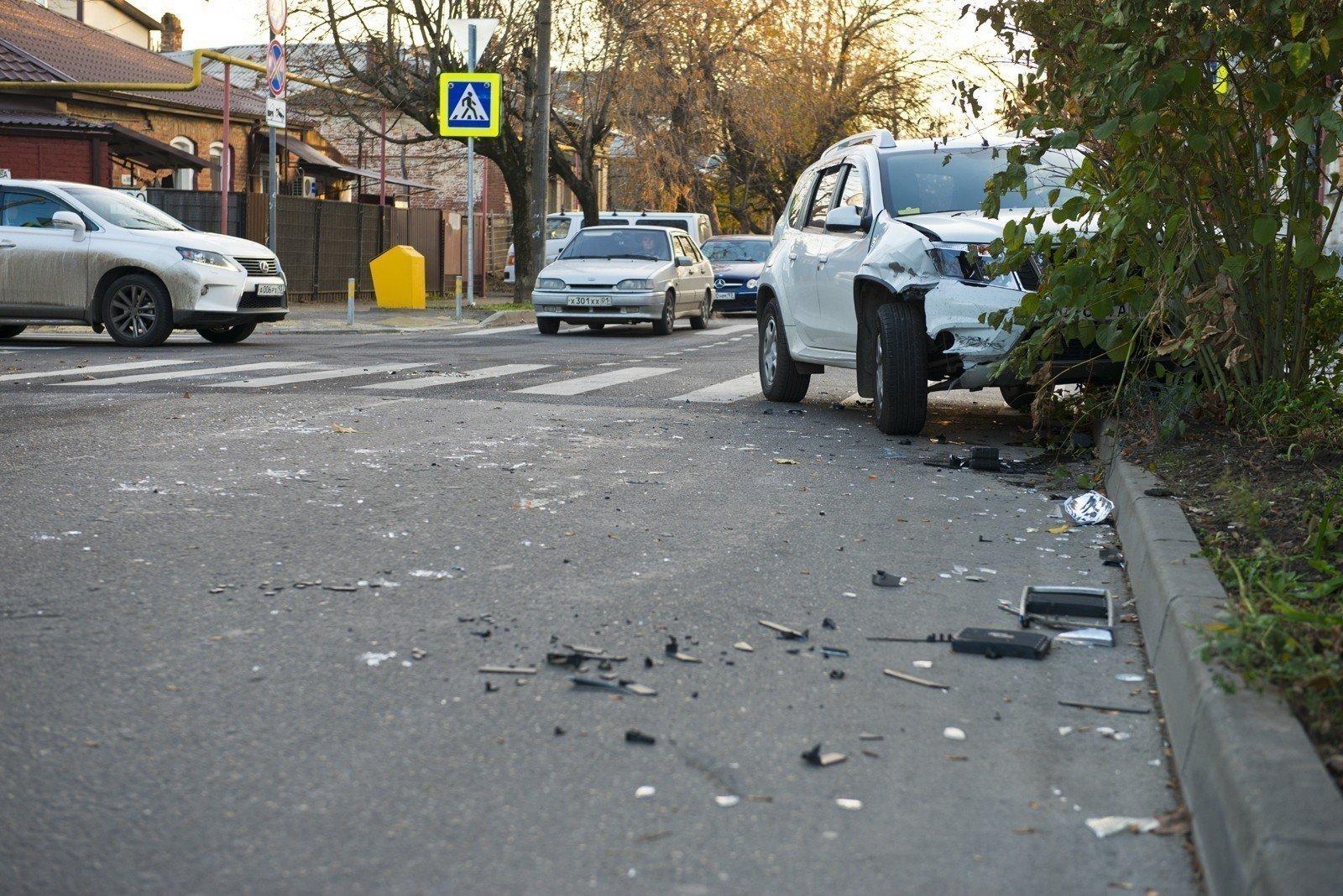 Яндекс составил приблизительно топ-10 самых аварийных мест Краснодара