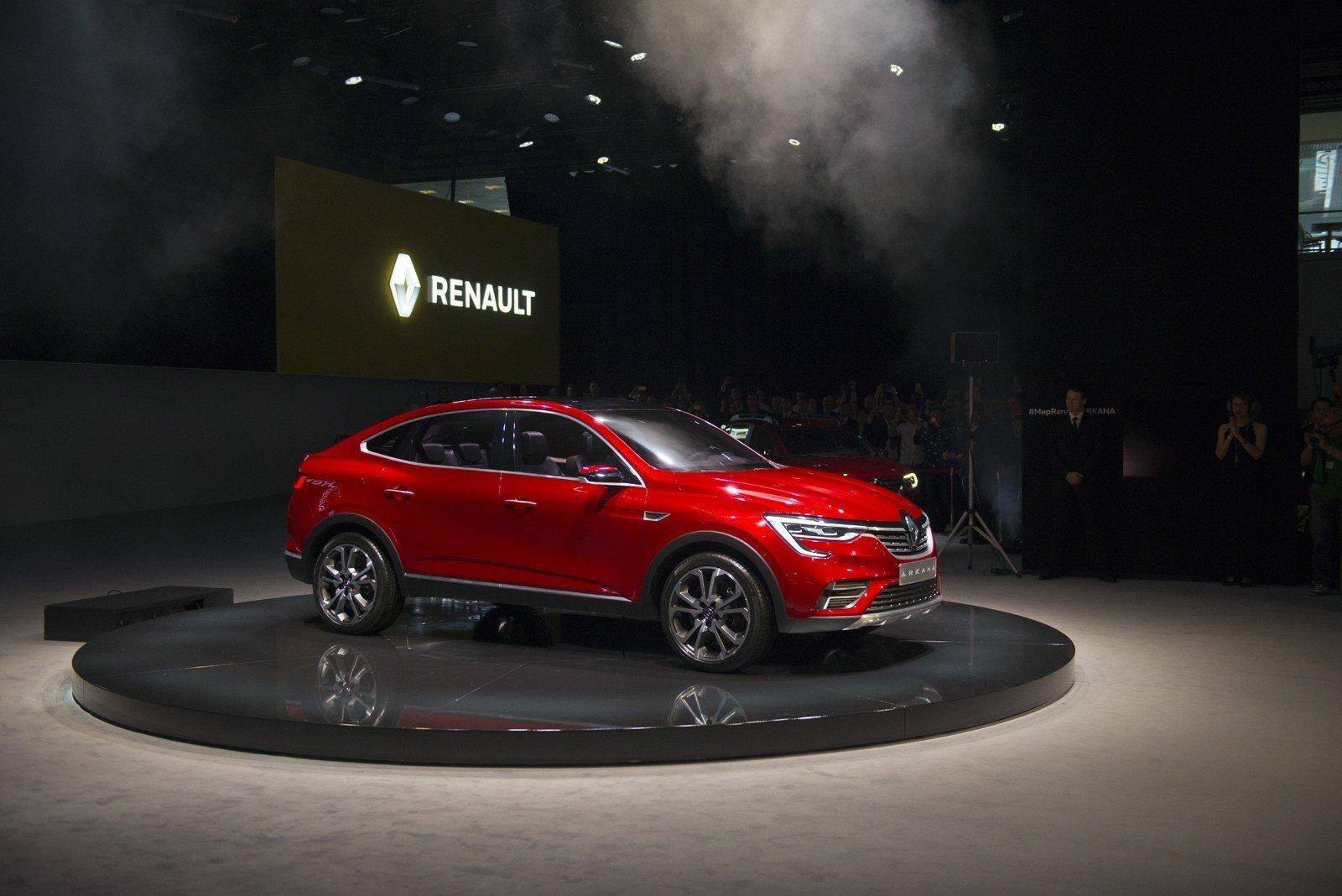 Renault на 66% локализует в РФ новый кроссовер купе Renault Arkana